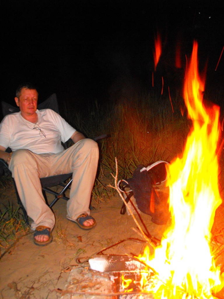Un feu pour le plaisir