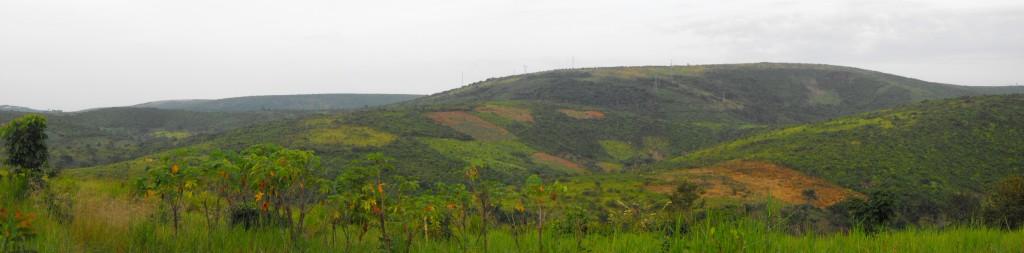 Vue panoramique de notre voisin au sud