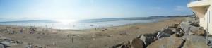 La plage de Keron